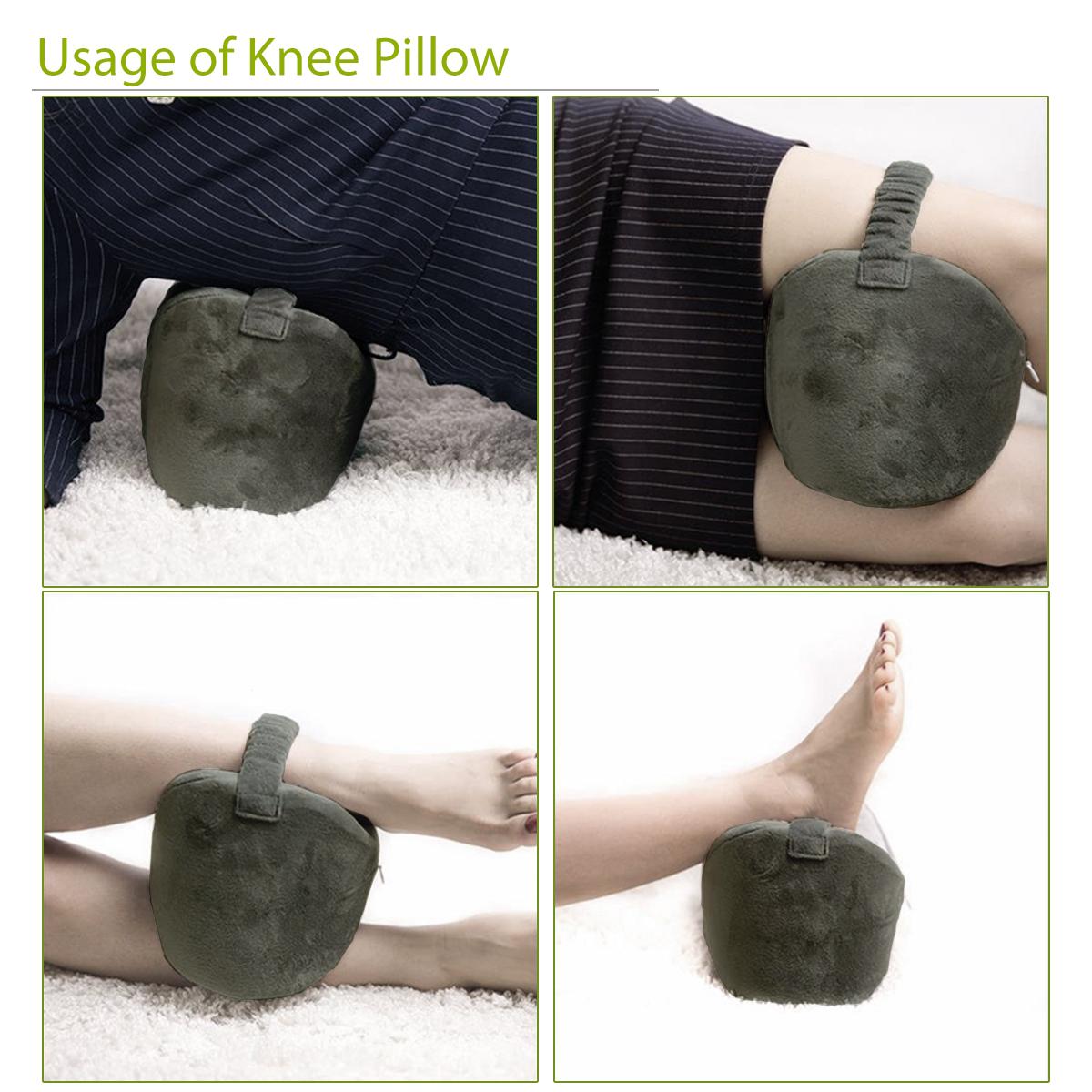 Portable Viscoelastic Memory Foam Leg Pillow Knee Pad