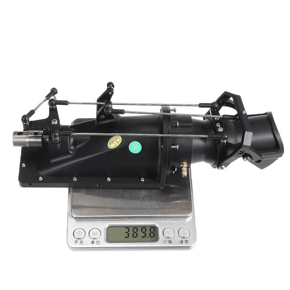 TFL B54270 Aluminum Alloy Water Jet Thruster Pump without Motor for RC Boat Model Parts