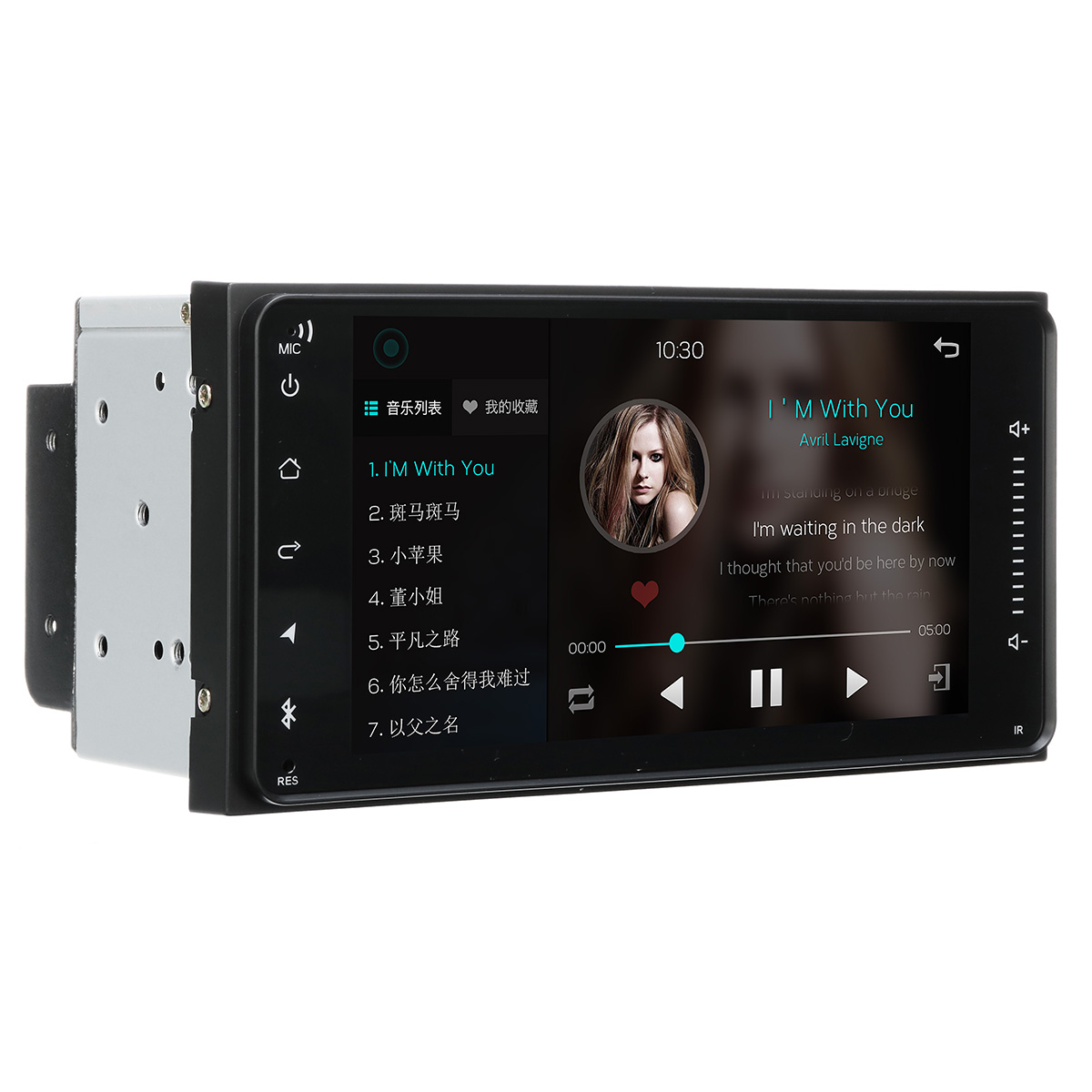 7 Inch Android 8 2DIN Car Stereo Quad Core Touch Radio WIFI GPS Nav Video MP5 Player for Toyota