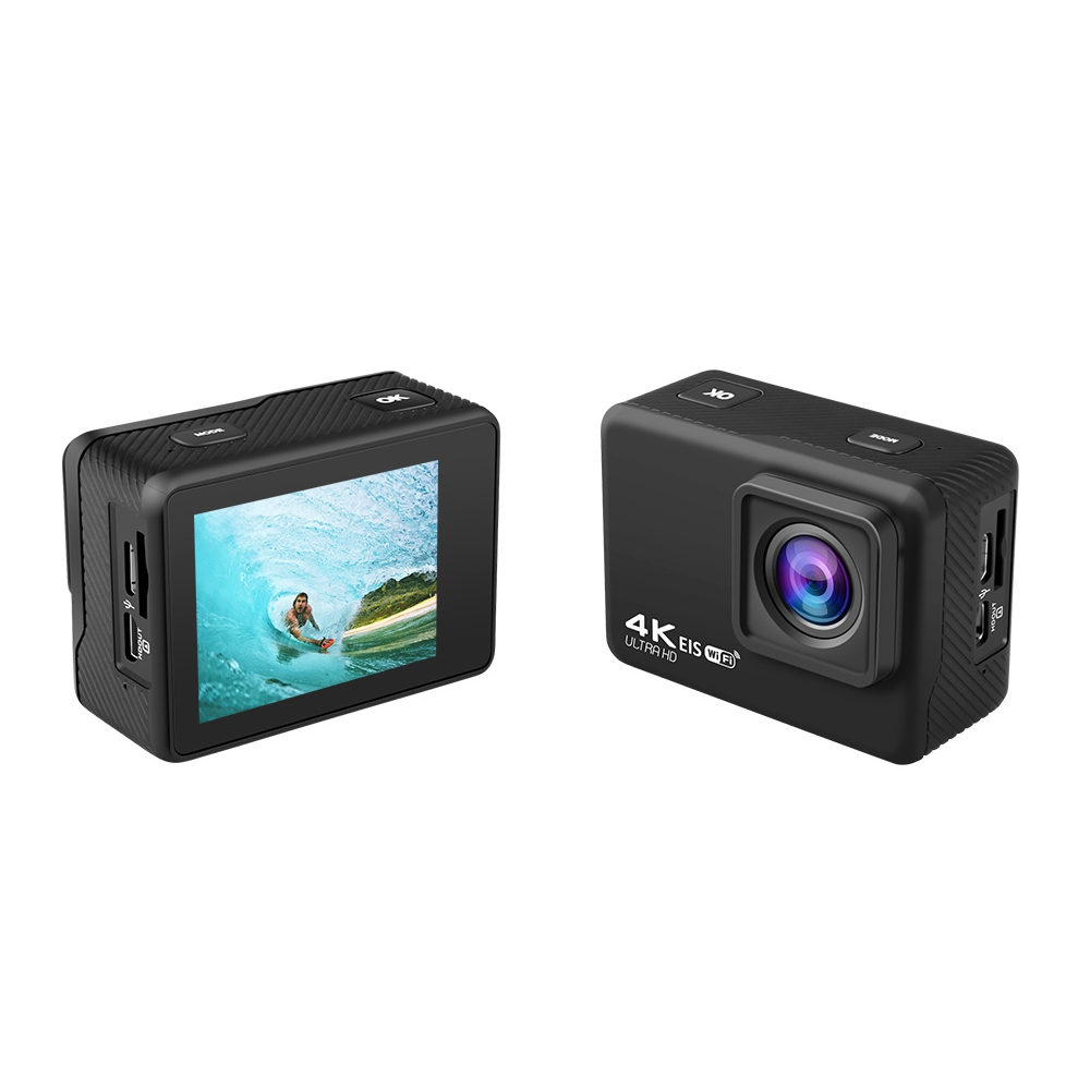AUSEK AT-Q37C V316 4K 60fps 30fps Mini Waterproof HD Camera Action CAM Support WiFi DVR Time-Lapse Loop for Outdoor FPV RC Drone Travel Photography - Photo: 6