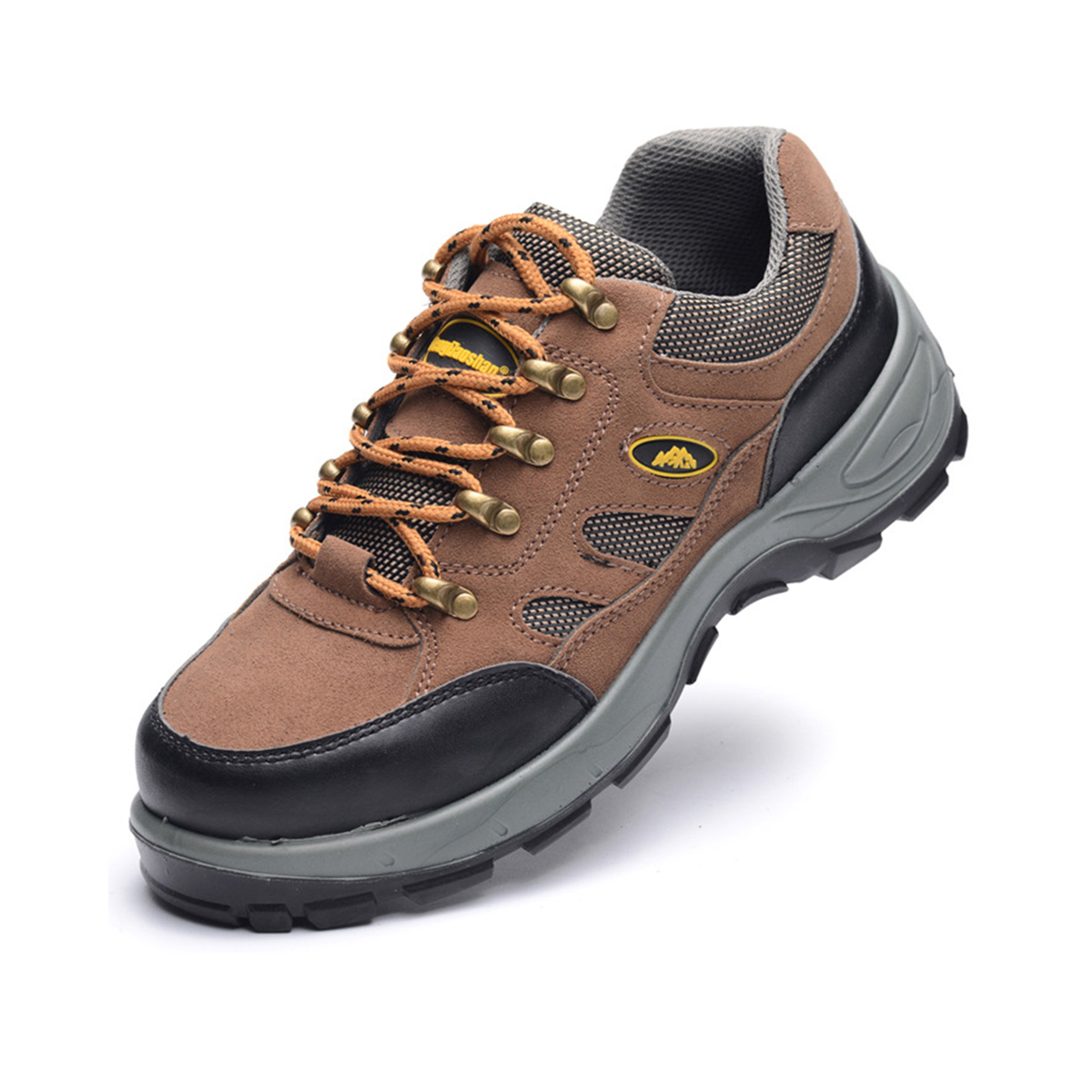 TENGOO Safety Shoes Steel Work Shoes Non-Slip Waterproof Hiking Casual Running Camping Sneakers