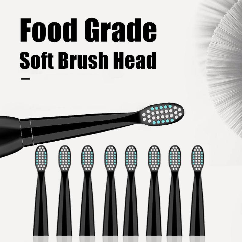 5 Gears USB Electric Toothbrush Waterproof with Timer