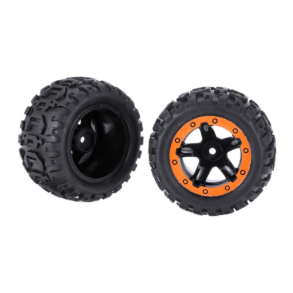 2PCS Tires & Wheels Rims for HBX 16889 1/16 RC Car Vehicles Spare Parts M16038 - Photo: 9