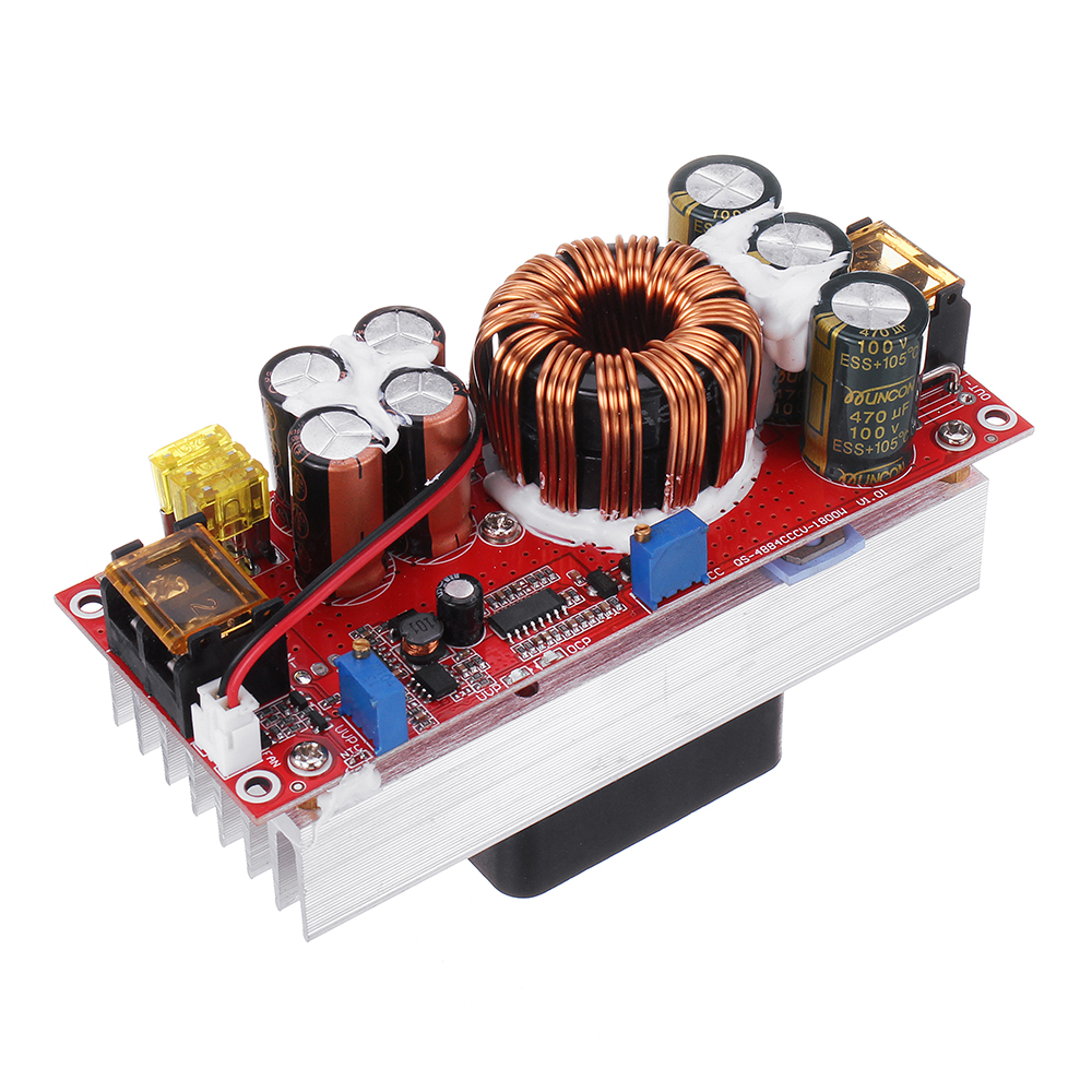 1200W/1800W 30A High Current DC-DC DC Constant Voltage Constant Current Boost Power Supply Module Electric Vehicle Booster