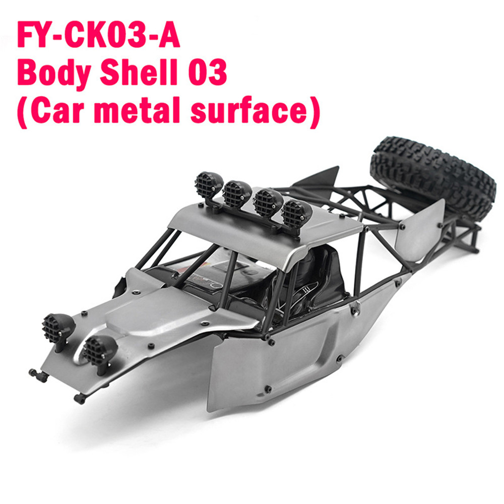 Feiyue Metal Car Body Shell for FY03 FY03H 1/12 RC Vehicles Model Spare Parts FY-CK03 - Photo: 3