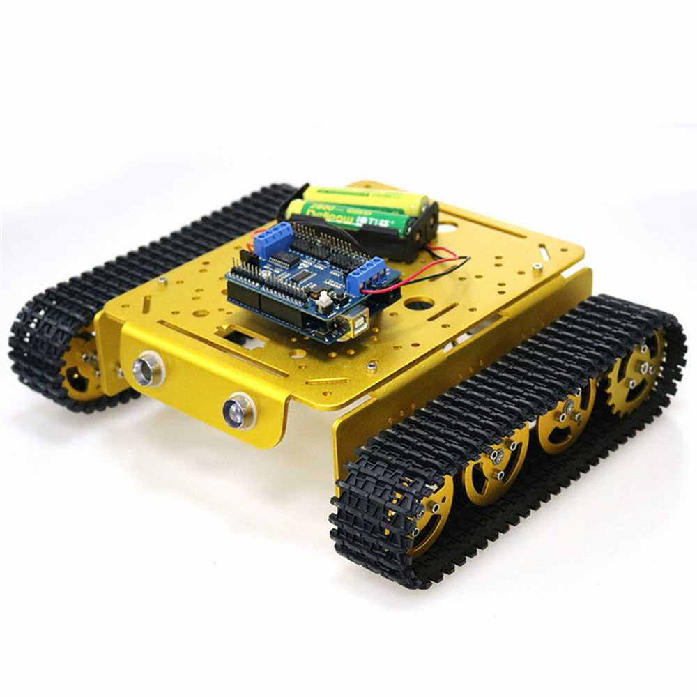 DOIT T200 DIY Smart WiFi Control RC Robot Car Tank Chasiss - Photo: 4
