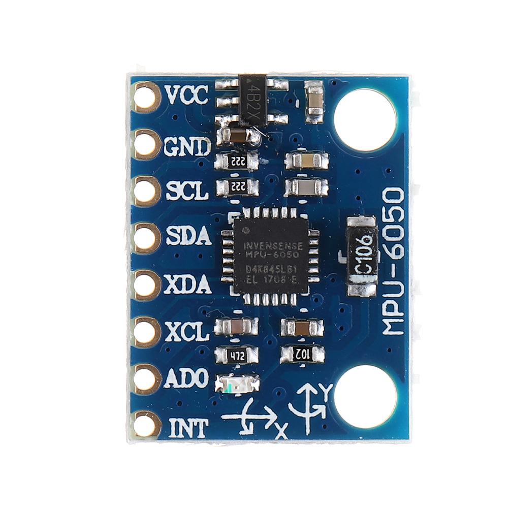 IIC I2C GY-521 MPU-6050 MPU6050 3-Axis Analog Gyroscope Sensors Accelerometer + 1.3 Inch LCD Module For Arduino 3-5V DC