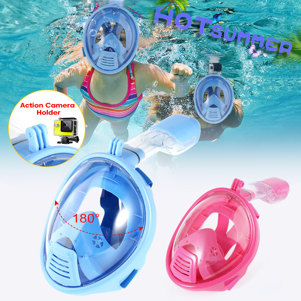 180° Vision Field Snorkeling Mask Anti-fogging Diving Mask