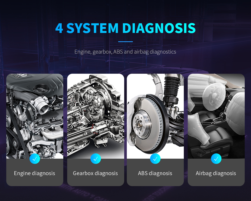 XTool EZ300 Pro With 5 Systems Car Diagnostic Scanner Engine ABS SRS Transmission and TPMS Same Function Creader With MD802 TS401 Free Update Online