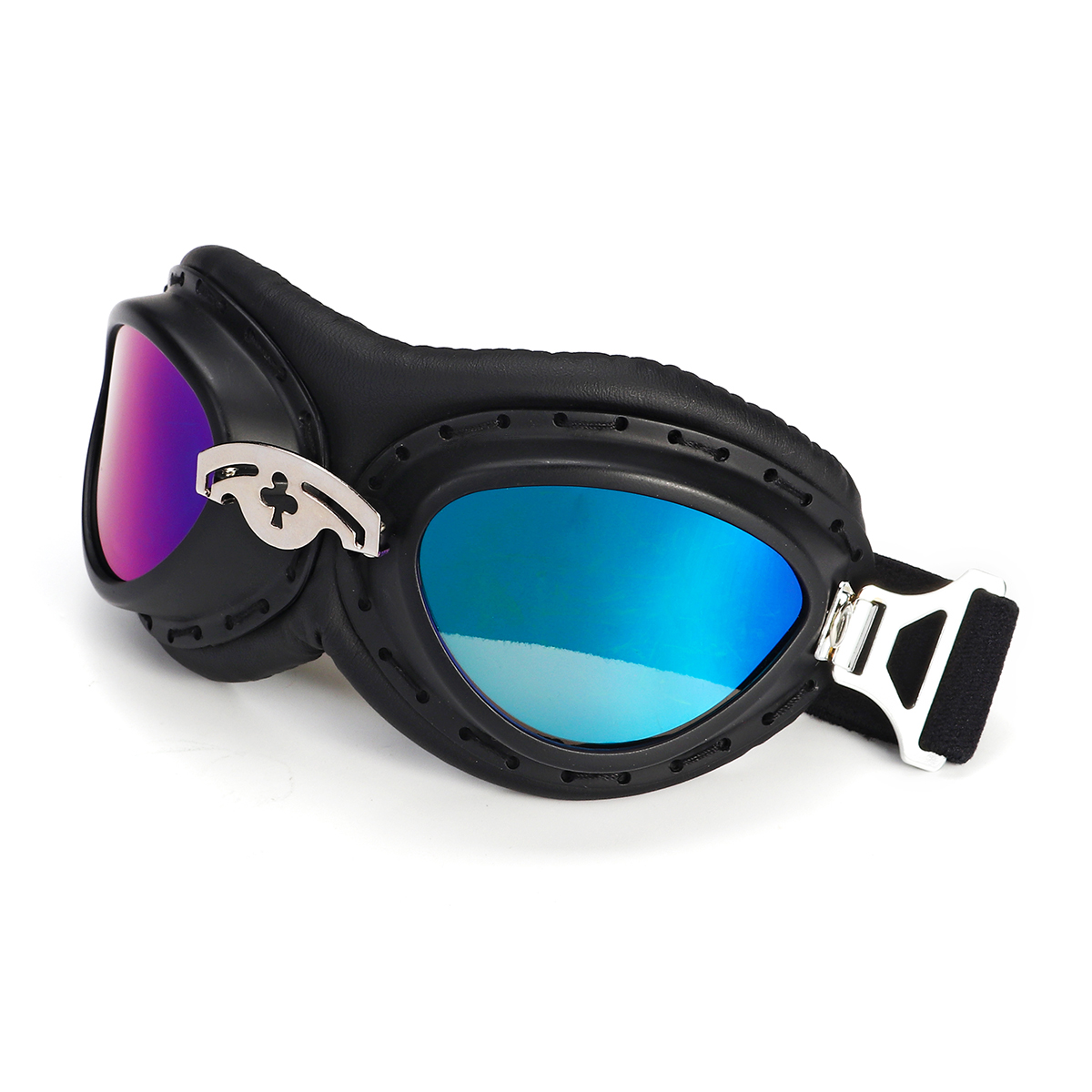 Motorcycle Goggles Glasses Vintage Motorbike UV Protection