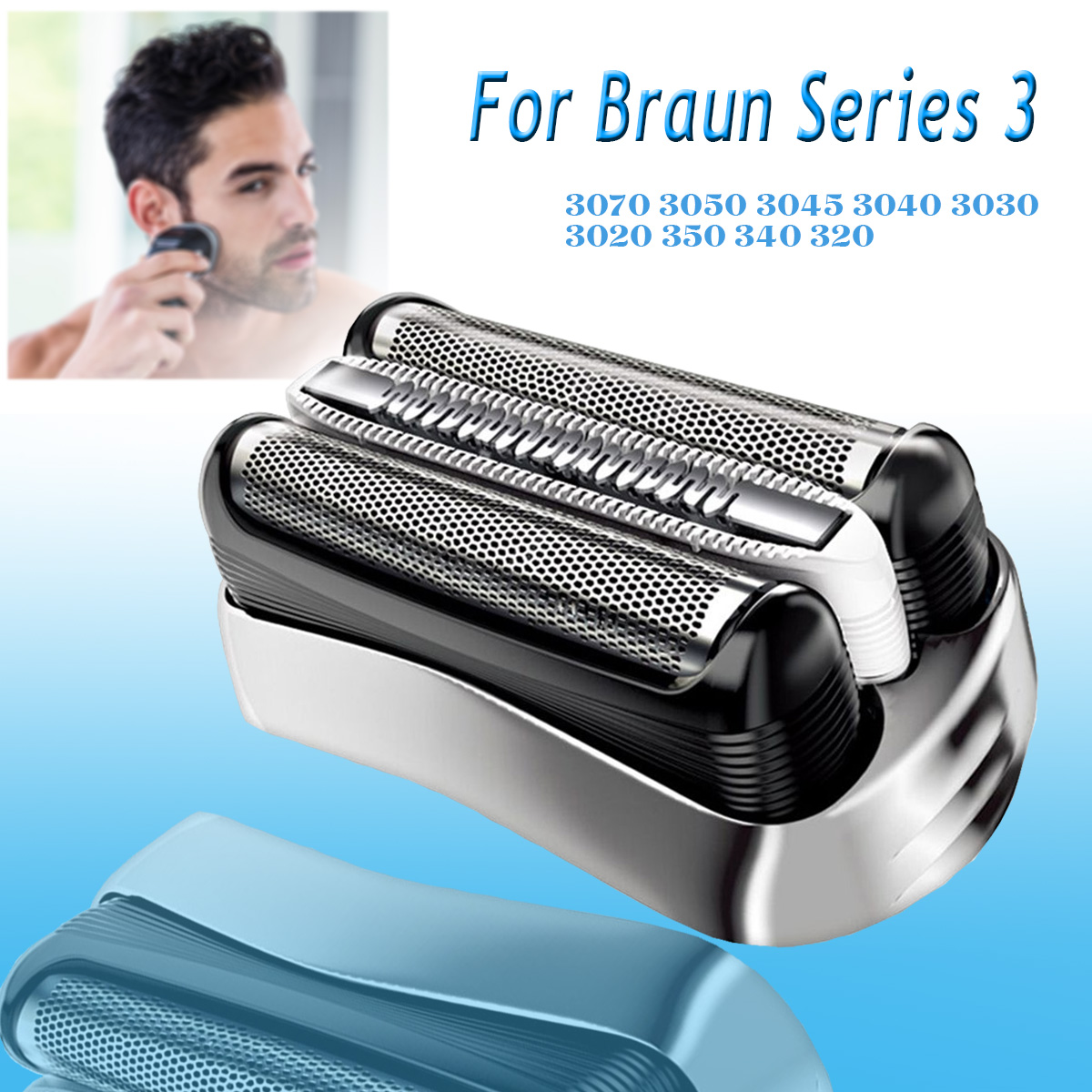 Electric Shaver Head Replacement Foil Head For Braun Series