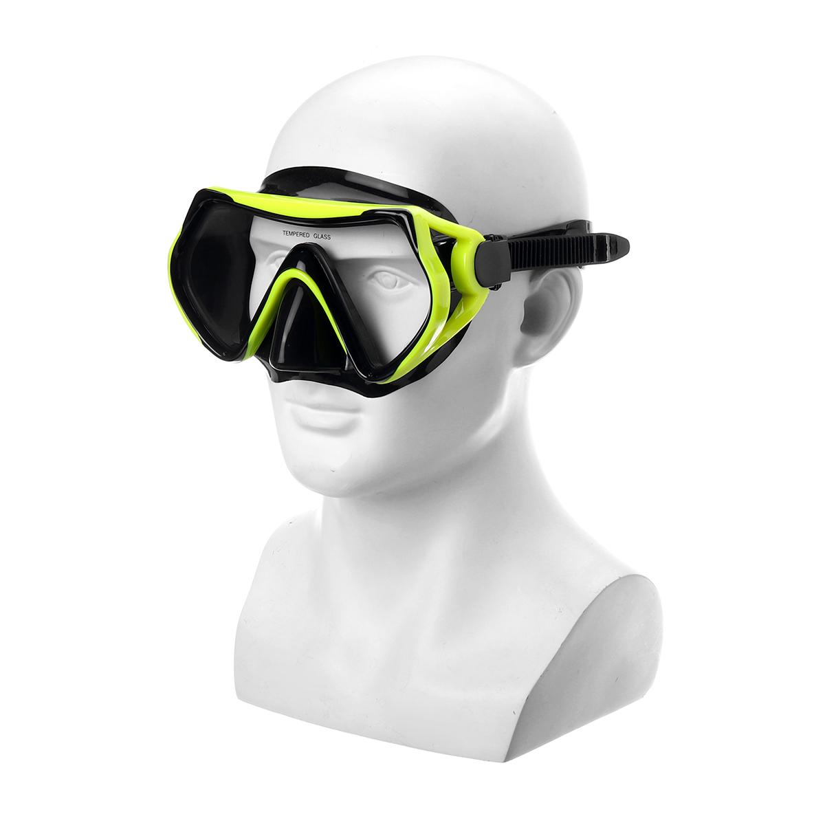 DIDEEP Duikmasker Onderwater Anti Fog Snorkel Zwemmasker B