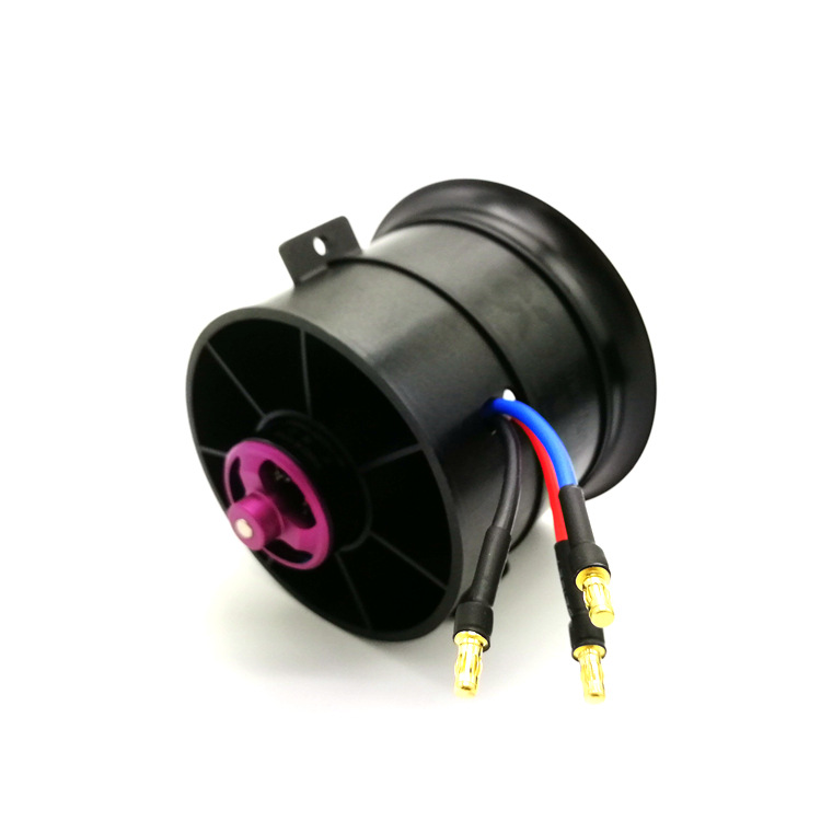 Powerfun EDF 70mm Ducted Fan 4S 3300KV Brushless Motor 12 Blades Propeller for RC Airplane Plane - Photo: 4
