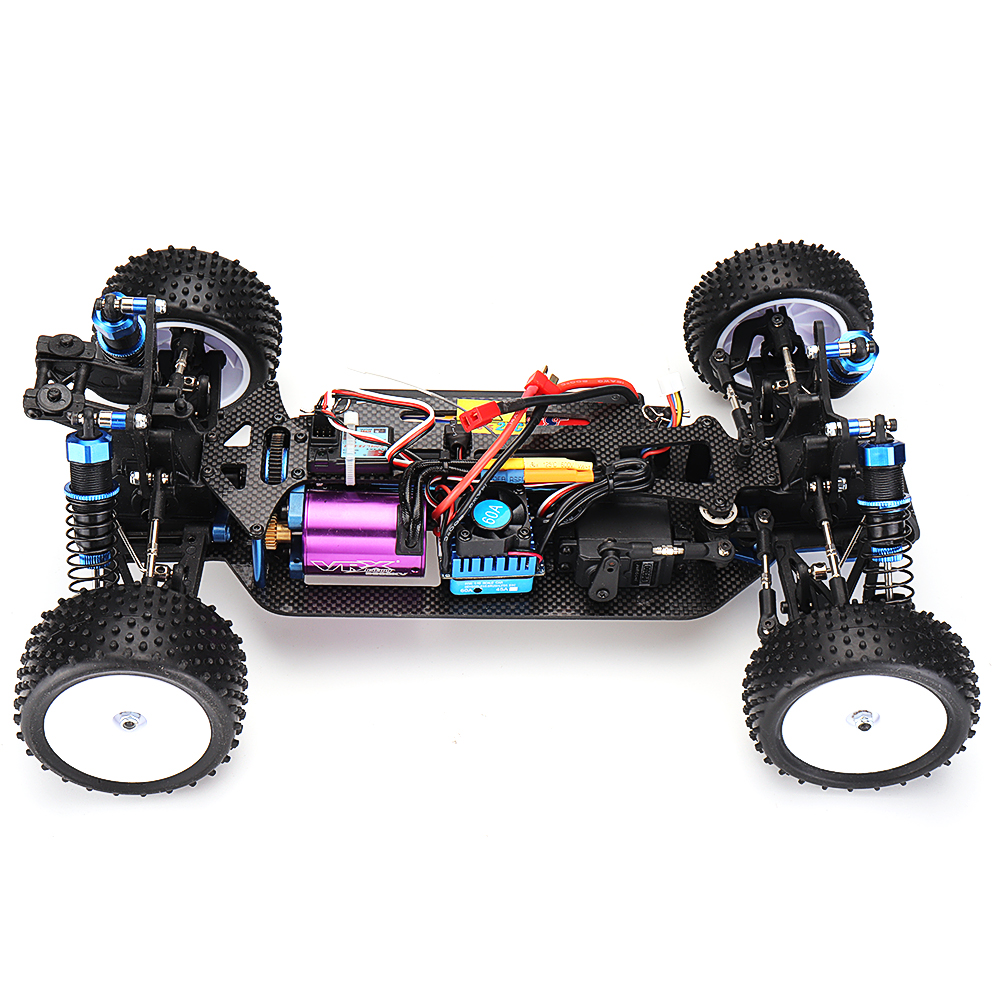 VRX RH1017PR 1/10 2.4G 4WD Brushless RC Car High Speed RTR With FS Transmitter - Photo: 6
