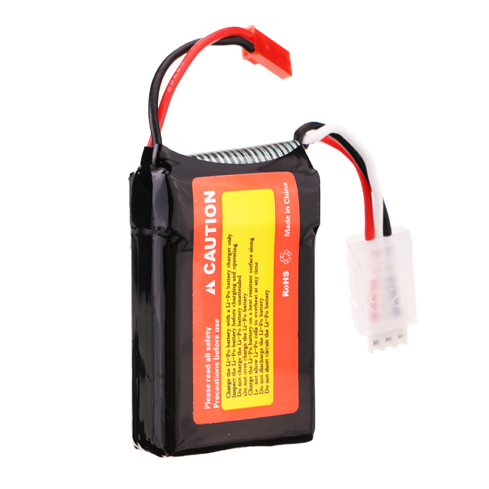 Tiger Power 7.4V 1000mAh 75C 2S Lipo Battery JST Plug for RC Drone - Photo: 9