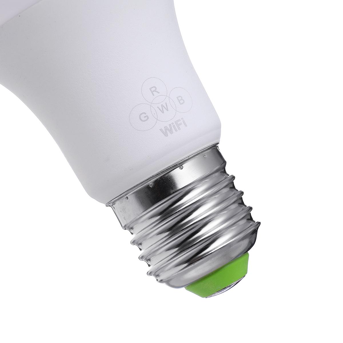 AC100-240V 4.5W E27 RGB WIFI Smart LED Light Bulb Remote Voice Control Lamp Work With Amazon Alexa Google Home