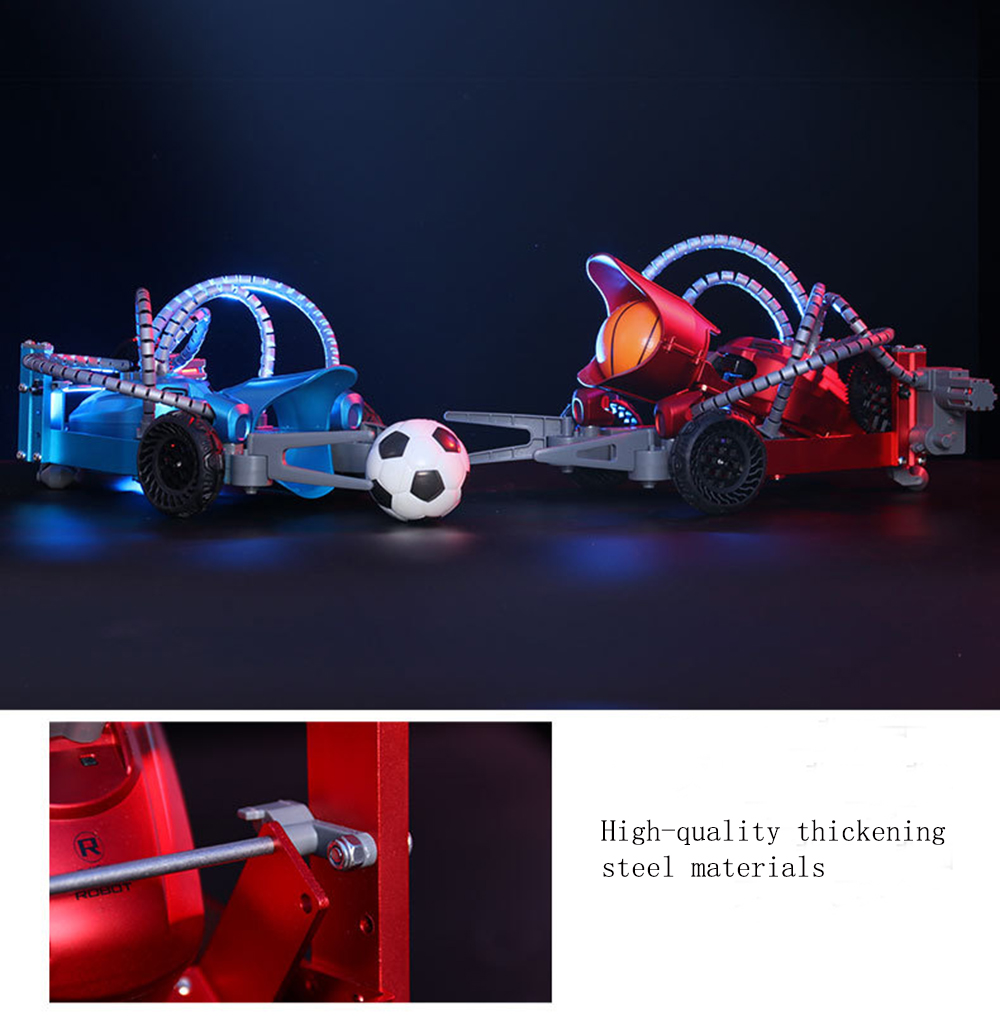 TongLi K5 Football Soccer Basketball Smart RC Robot Car With Controller - Photo: 2