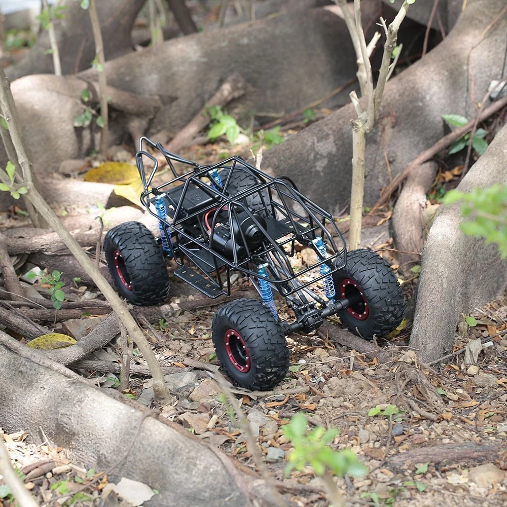 313mm Wheelbase RC Car Chassis Frame For 1/10 AXIAL SCX10 II 90046 90047 RC Crawler Climbing Vehicle - Photo: 9