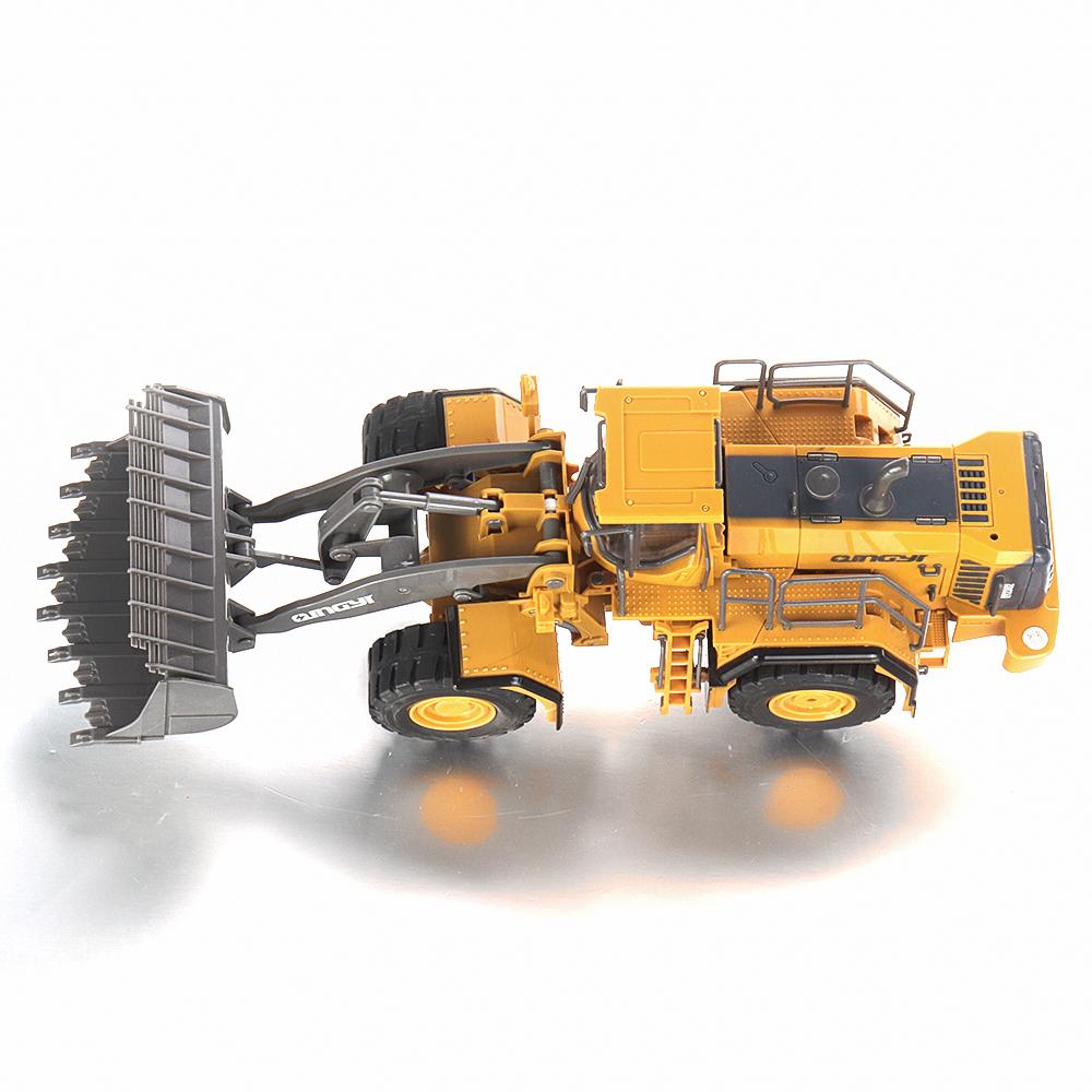QY2302 1/28 2.4G 6CH RC Car Bulldozer Vehicle Models Engineer Truck - Photo: 10