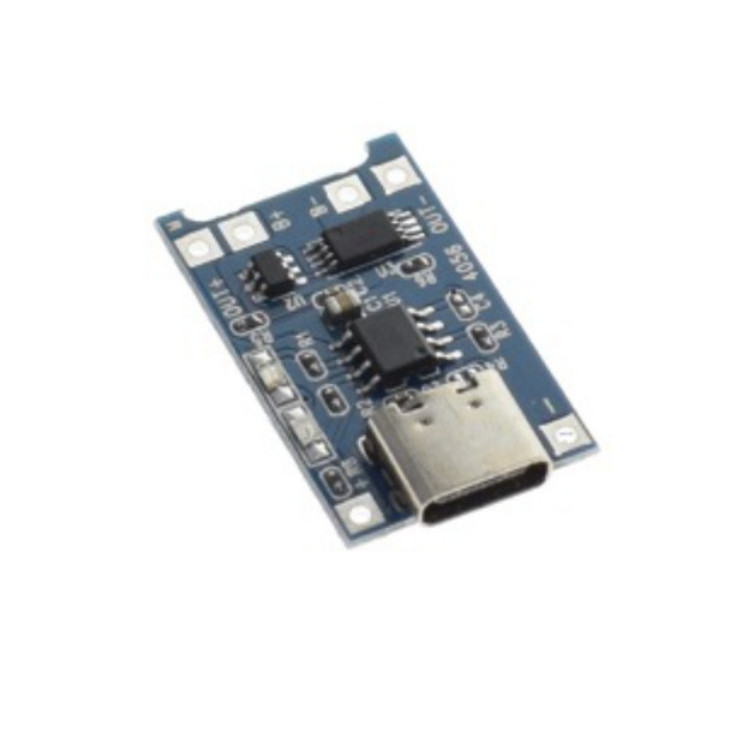 1A 1S Charging Protection Board Module TYPE-C for 3.7V/ 3.6V/4.2V/18650 Lipo Battery