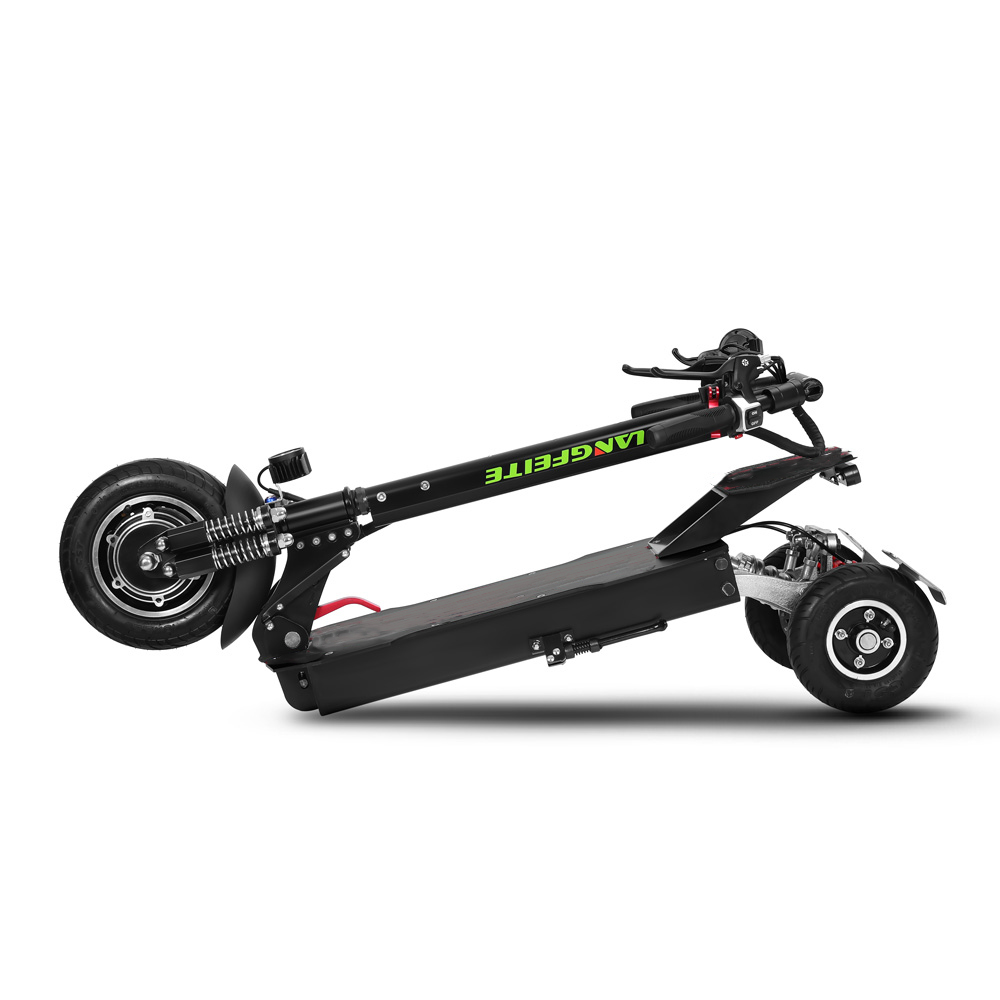 LANGFEITE L11 20Ah 36V 500W Folding Electric Scooter 40km/h Top Speed 55km Mileage Range Max. Load 150g Two Wheels Electric Scooters