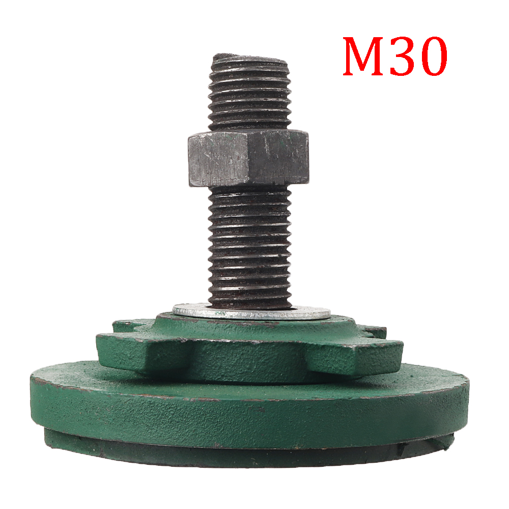 Machifit M20/M30 Machine Tool Sizing Block Adjustable Shock Pads Shock Absorption Damping for Foundation Punch S78 Series Lathe Tools