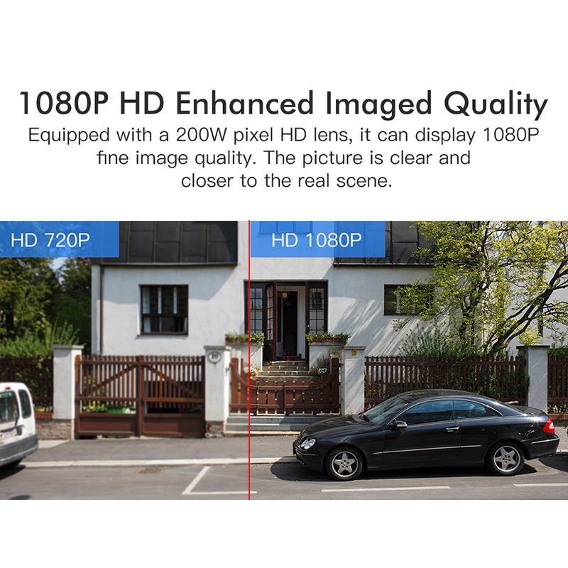 Bakeey 1080P PTZ 4X Zoom Security Smart WIFI IP Camera 10 LED Outdoor Waterproof Speed Dome CCTV Monitor