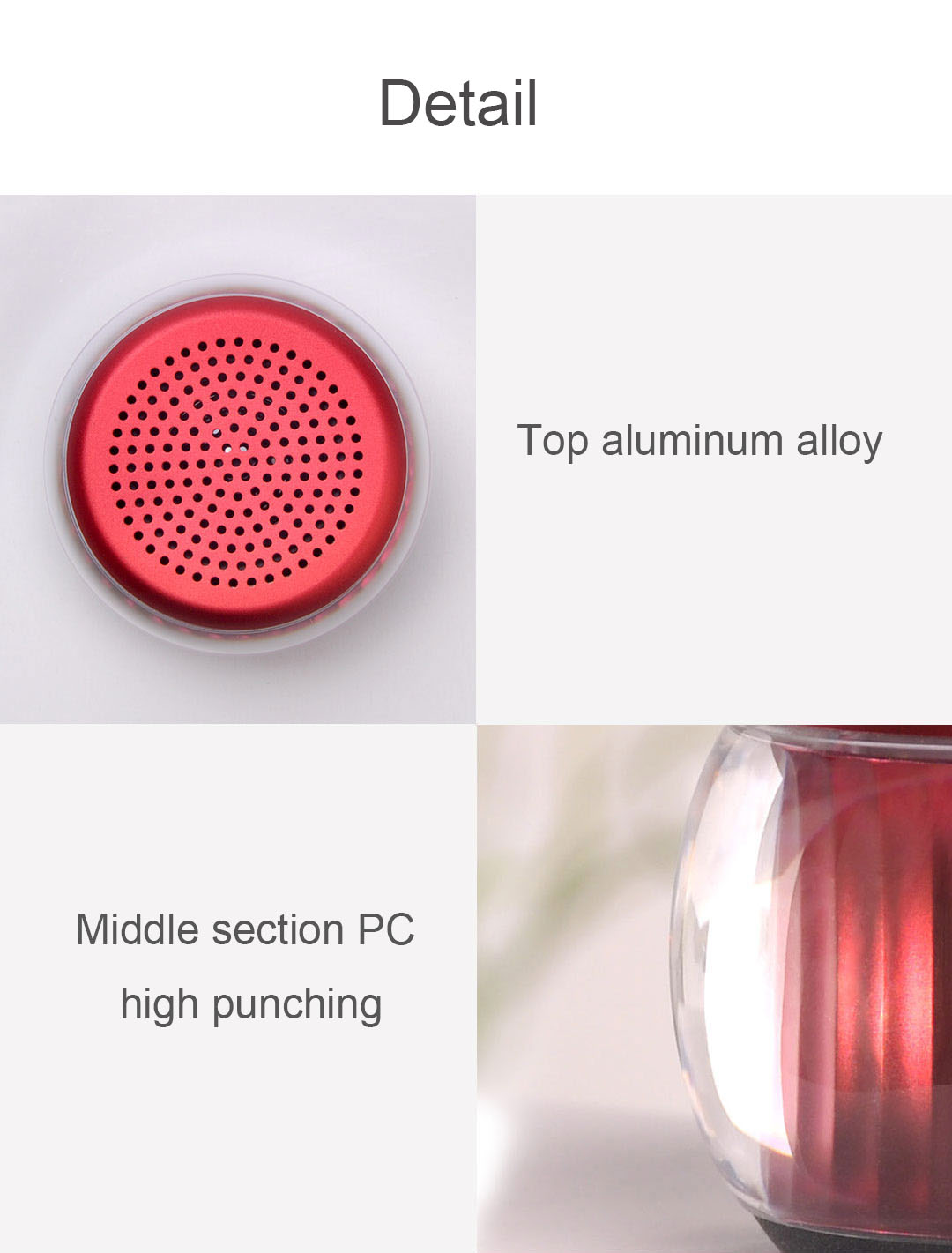 Velev M07 Wireless bluetooth 5.0 Speaker Mini Portable Colorful LED Light TWS Function Stereo Speaker from Xiaomi Youpin
