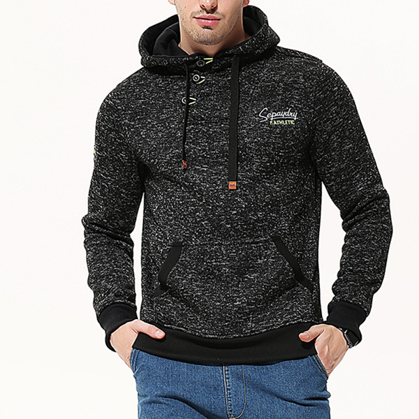JACK CORDEE Double Zip Up Men's Sports Fleece Hoodies