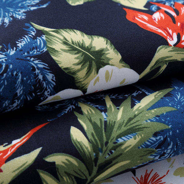 Hawaii Floral Printing Plus Size S-5XL Holiday Beach Shirts