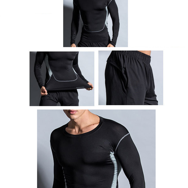 Three-piece Elastic Fitness Suits