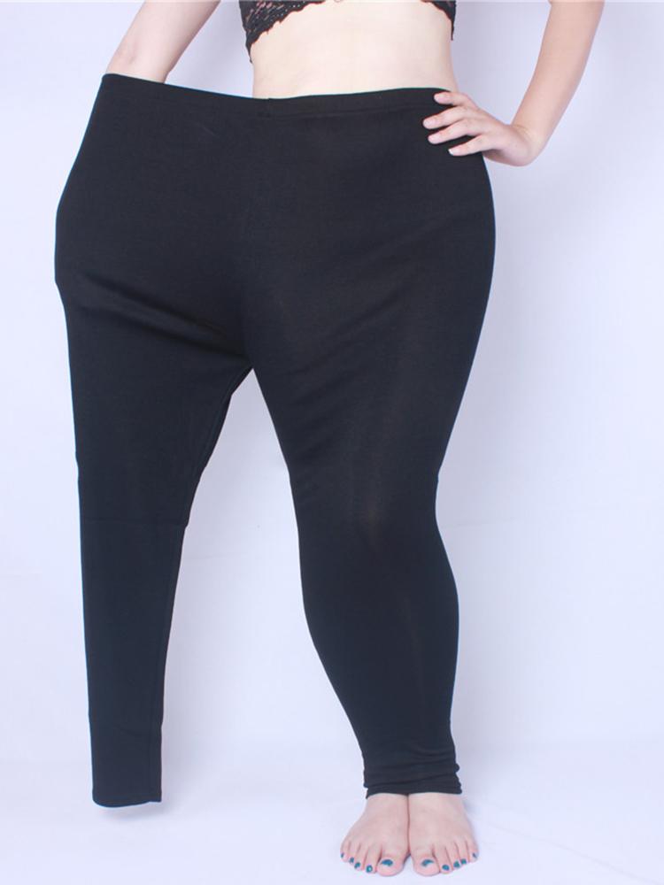 5XL Women High Elastic Warm Cashmere Leggings