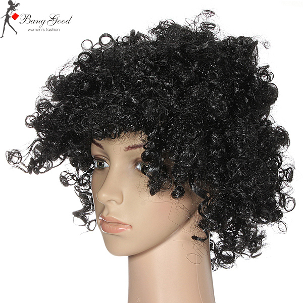 Afro Curly Clown 70s Fancy Disco Unisex Party Wigs Us692 Sold Out