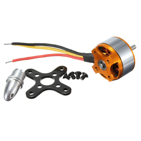 XXD A2208 KV2600 Brushless Motor H367 For RC Airplane Q