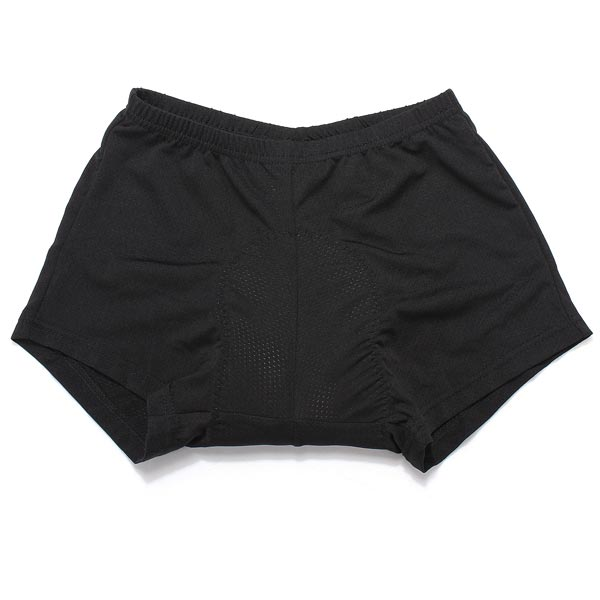 Aogda Unisex Black Cycling Comfortable Underwear Sponge Padded Bike Short Pants Cycling Shorts
