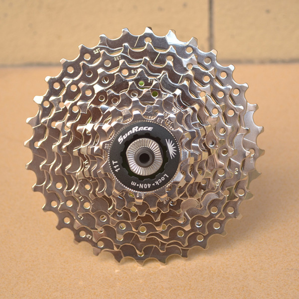 Bike Bicycle 9-speed Nickel chrome plated Flywheel Accessories