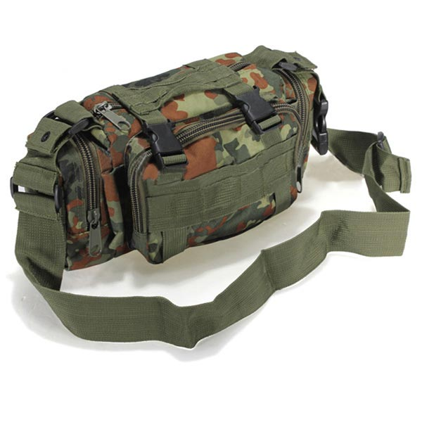 Outdoor Sports Camouflage Backpack Rucksack Camping Hiking Waist Bag Pack