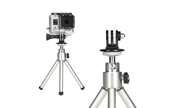 Tripod Mount For GoPro Camera And SupTig Outdoor Camera