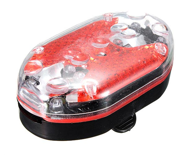 Bike Bicycle 5LED Front Headlight 9LED Rear Tail Light