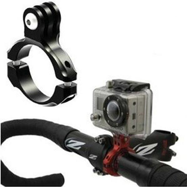 Bike Handlebar Clamp Mount For Gopro HD Hero 1 2 3 Camera 31.8mm