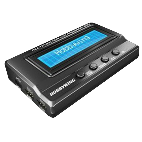 Hobbywing Upgraded 3 In1 Multifunction Professional LCD Program Box For ALZRC Devil 380