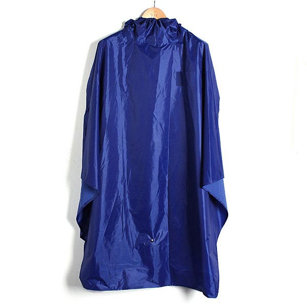 Outdooors Windproof Hooded Rain Coat Camping Hiking Waterproof Poncho