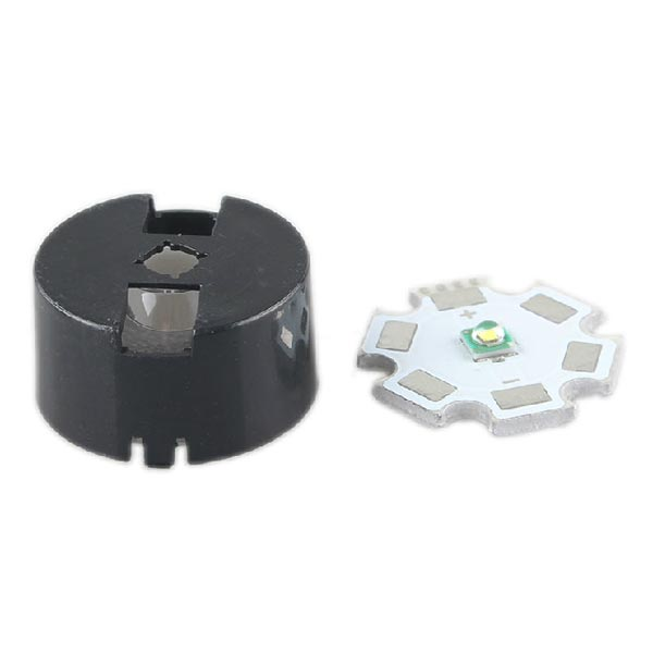 60 Degree XRE XRC LED Frosting Lens With Holder