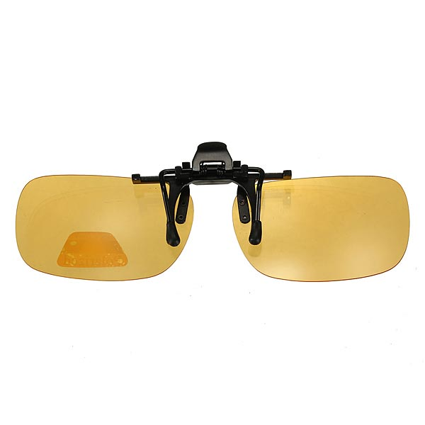 Clip-on Sun Glassess Polarized Night Vision Glasses Lens