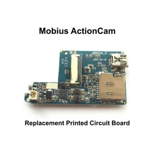 replacement printed circuit board for the mobius action sport camera rh banggood com