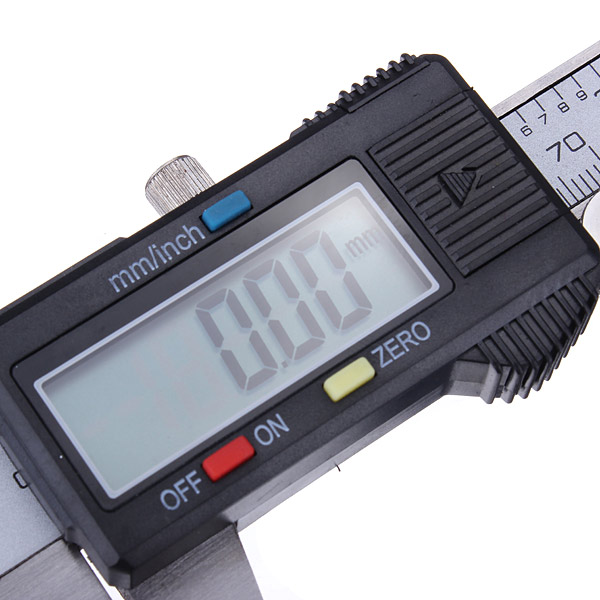 DANIU 6 Inch 150mm Electronic Mini Digital Caliper Micrometer Guage Ruler