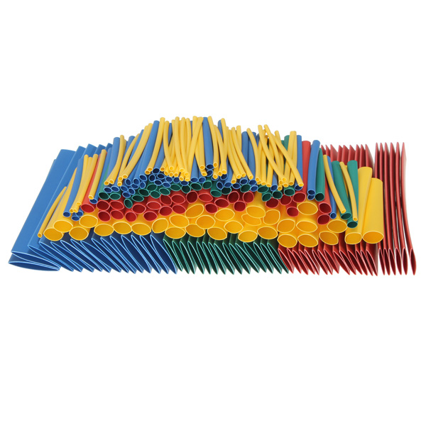 Soloop 260pcs 2:1 Polyolefin H-type Heat Shrink Tube Sleeving 4 Color 8 Size