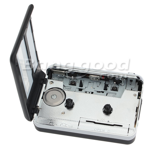 12V 10W USB Stereo Cassette Capture Cassette To MP3 Transducer