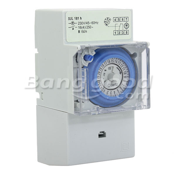 SUL 181H Electronic Timer 230V 45-60Hz 24 Hour Cycle Time