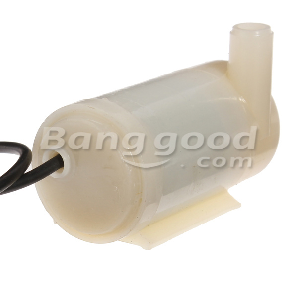 Mini Submersible DC Motor Pump 3V 120L/H Low Noise Max Lift